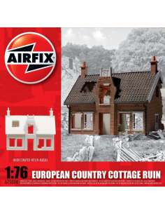 MAQUETA EUROPEAN COUNTRY COTTAGE RUIN 1